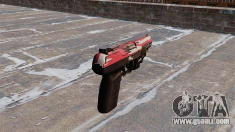 Gun FN Five seveN LAM Red urban for GTA 4 second screenshot