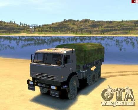 KamAZ 43114 for GTA 4