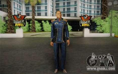 Captain David Anderson из Mass Effect series for GTA San Andreas