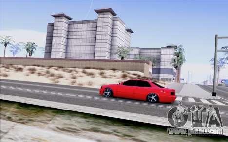 Toyota Chaser Tourer V for GTA San Andreas back left view