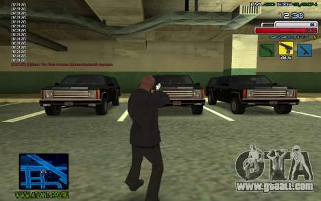 C-HUD SampHack for GTA San Andreas third screenshot