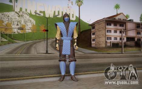 Classic Sub Zero из MK9 DLC for GTA San Andreas