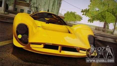 Ferrari 330 P4 1967 IVF for GTA San Andreas upper view