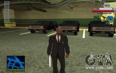 C-HUD SampHack for GTA San Andreas
