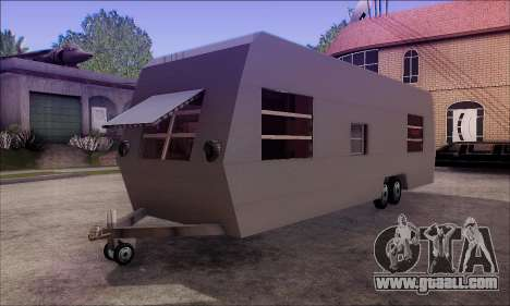The Caravan Trailer for GTA San Andreas