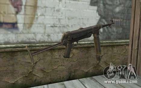 MP-40 Dual Mags for GTA San Andreas second screenshot