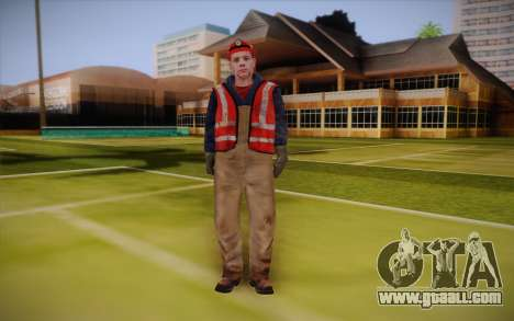 Road worker for GTA San Andreas
