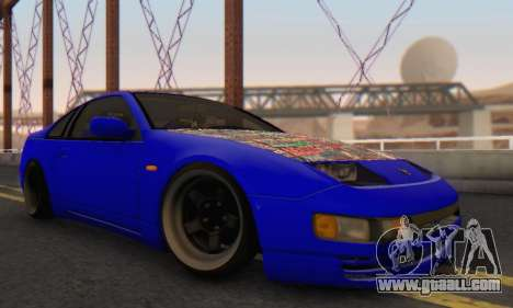 Nissan 300ZX Fairlady for GTA San Andreas right view