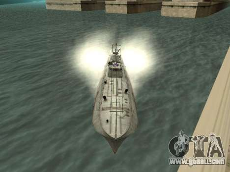 Torpedo boat type G-5 for GTA San Andreas left view