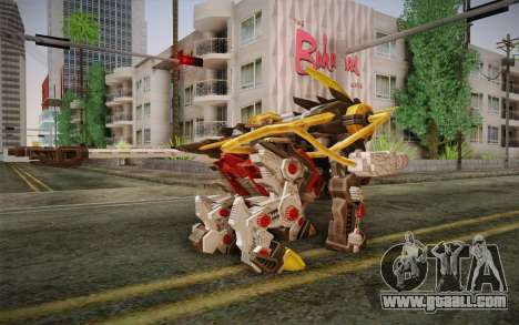 Energy Liger from Zoids for GTA San Andreas second screenshot