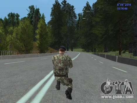 USSR Special Forces for GTA San Andreas seventh screenshot