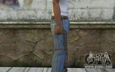 MP-40 Dual Mags for GTA San Andreas third screenshot