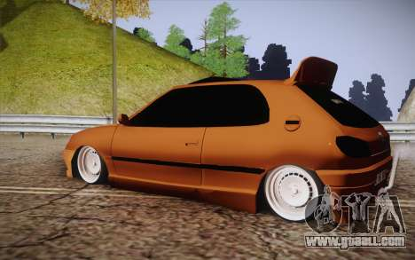 Peugeot 306 GTI 41 NS 681 for GTA San Andreas left view