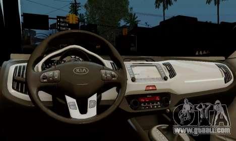 Kia Optima Stock for GTA San Andreas right view