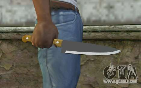 Kitchen knife for GTA San Andreas third screenshot