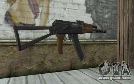 AK74 Rifle for GTA San Andreas second screenshot