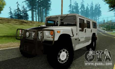Hummer H1 Alpha for GTA San Andreas upper view