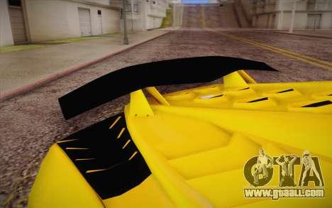 Zentorno из GTA 5 for GTA San Andreas right view