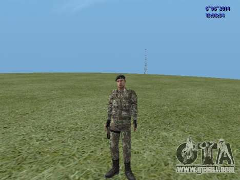 USSR Special Forces for GTA San Andreas