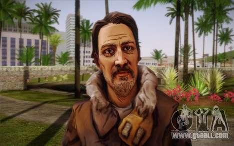 William Carver из The Walking Dead for GTA San Andreas third screenshot