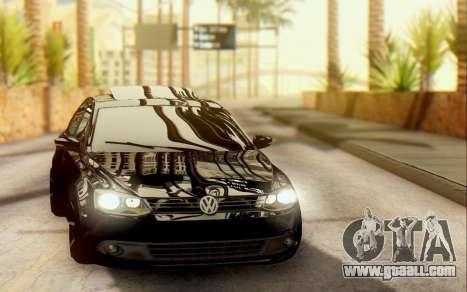 Volkswagen Jetta 1.4 МТ Comfortline for GTA San Andreas left view