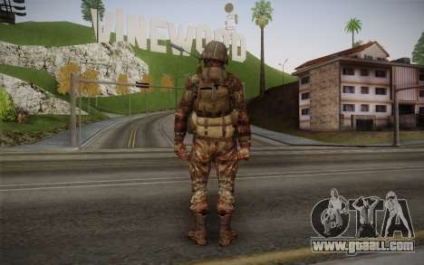 U.S. Soldier v1 for GTA San Andreas second screenshot