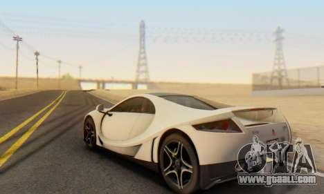 GTA Spano 2014 IVF for GTA San Andreas side view