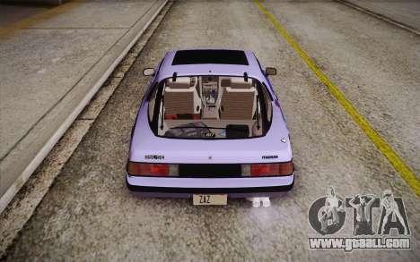Mazda RX-7 GSL-SE 1985 HQLM for GTA San Andreas interior