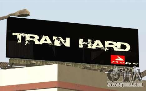 HQ Billiboards for GTA San Andreas fifth screenshot