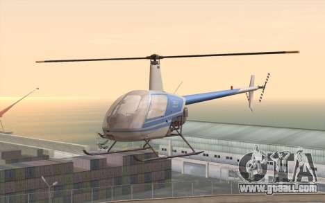Robinson R22 for GTA San Andreas
