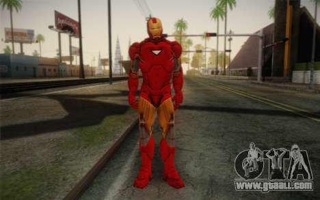 Iron man for GTA San Andreas