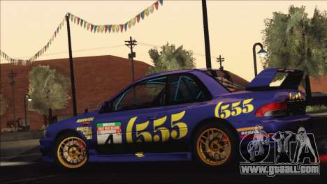 Subaru Impreza 22B STi 1998 for GTA San Andreas wheels