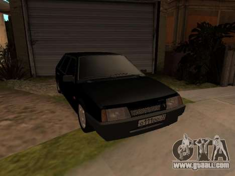 VAZ 2109 Bandit V 1.0 for GTA San Andreas
