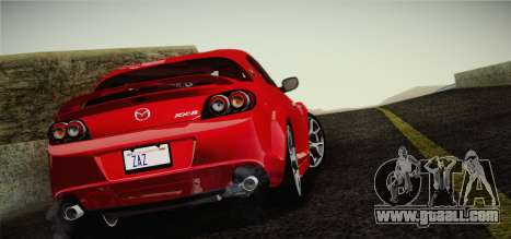 Mazda RX-8 Spirit R 2012 for GTA San Andreas left view