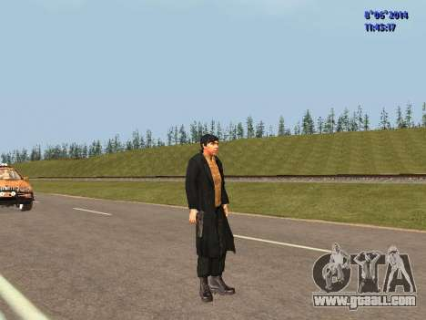 Danila from the movie Brother for GTA San Andreas third screenshot