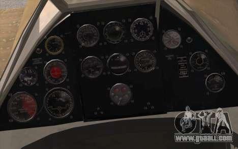 IAR 80 - Romania No 91 for GTA San Andreas right view