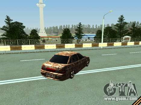 VAZ 2110 camouflage for GTA San Andreas right view