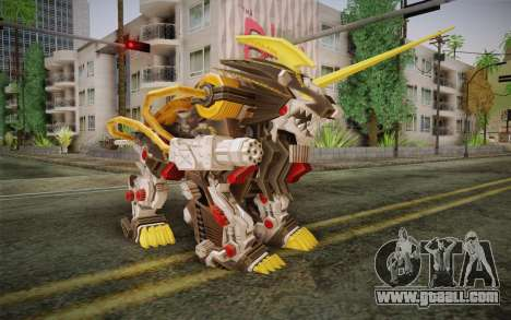 Energy Liger from Zoids for GTA San Andreas
