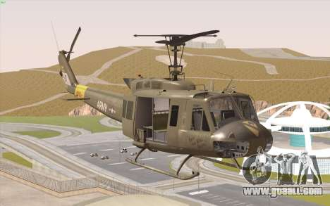 UH-1 Huey for GTA San Andreas