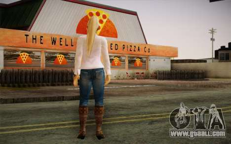 Sarah from DoA for GTA San Andreas second screenshot