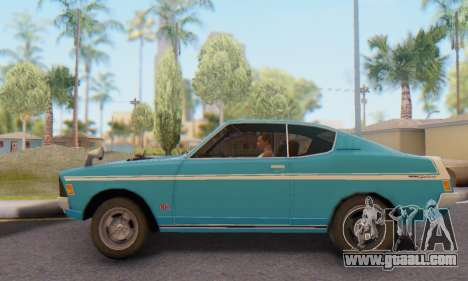 Mitsubishi Galant GTO-MR for GTA San Andreas left view