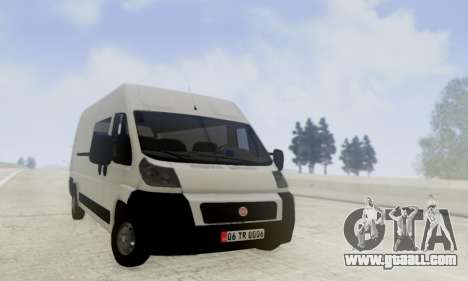 Fiat Ducato Ekip Otosu for GTA San Andreas