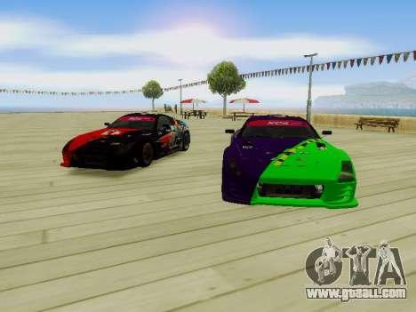 Toyota Supra Evil Empire for GTA San Andreas inner view