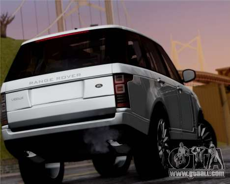 Range Rover Vogue 2014 for GTA San Andreas right view