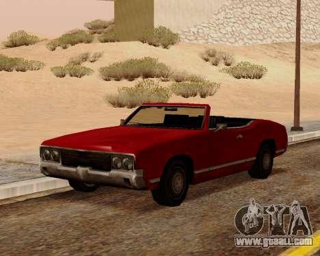 Sabre Convertible for GTA San Andreas