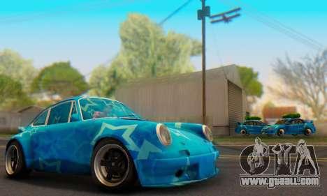 Porsche 911 Blue Star for GTA San Andreas