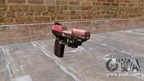 Gun FN Five seveN LAM Red urban for GTA 4