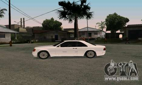 Mercedes-Benz W124 Coupe for GTA San Andreas right view