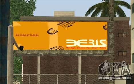 HQ Billiboards for GTA San Andreas forth screenshot