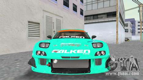Mazda RX7 FD3S RE Amamiya Falken for GTA Vice City back view